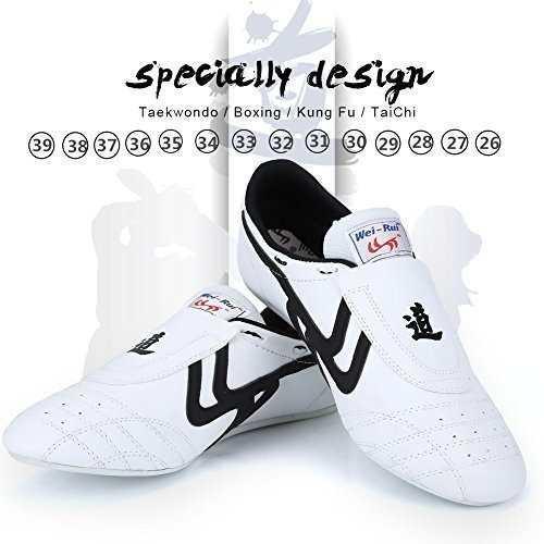 Zapatos de taekwondo artes marciales zapatilla de boxeo