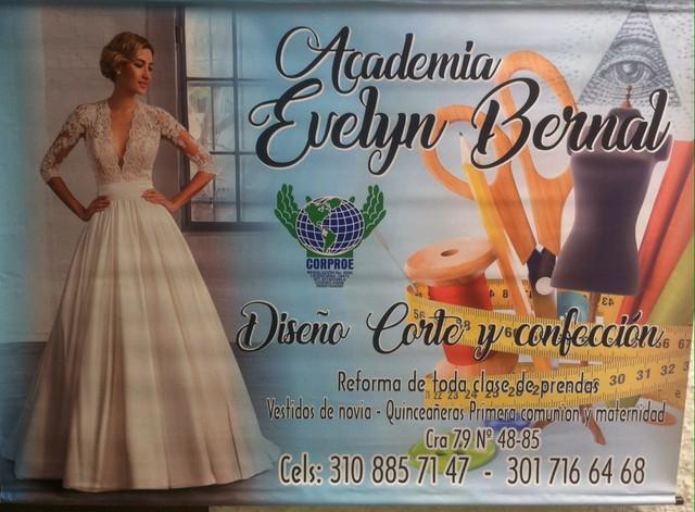 Academia de alta costura evelyn bernal