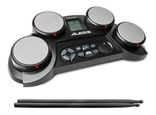 Alesis compactkit 4   kit de bateria portatil de mesa portat