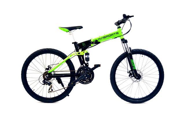 "Bicicleta plegable rin 26"""