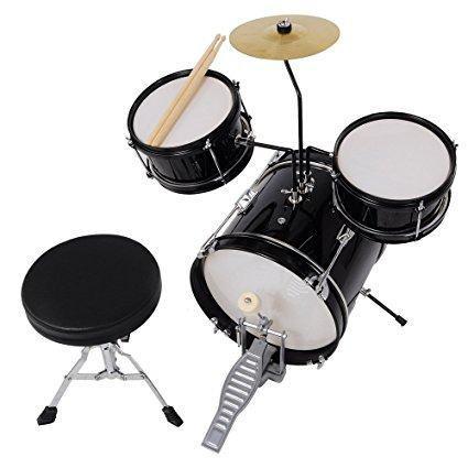 Drum set bateria aw 3pcs junior niños drum set kit sticks