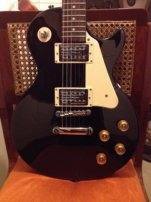 Espectacular guitarra eléctrica epiphone les paul 100