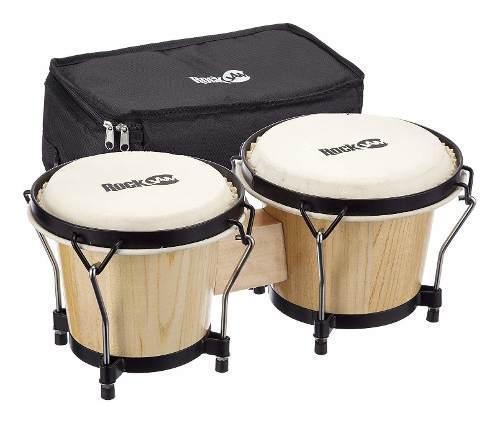 Juego de batería bongo de y con bolsa acolchada y ll...