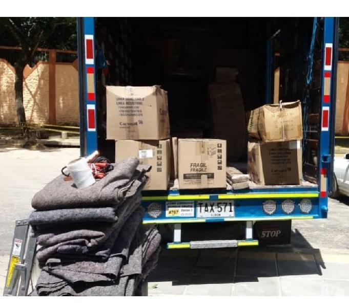 Transporte de mudanzas, trasteos y encomiendas por colombi