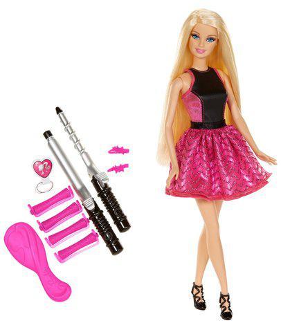 Barbie Rizos A La Moda Original De Mattel Muñeca what sapp: