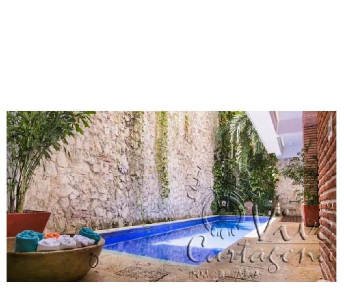 Casa de lujo sector amurallado san diego cartagena