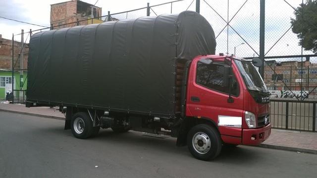 Camion foton de estacas