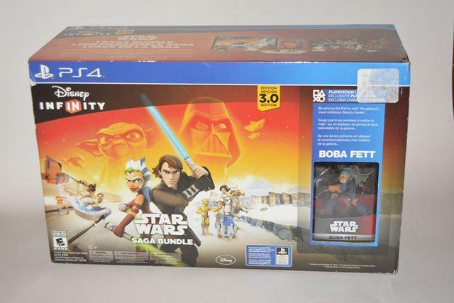 Disney infinity 3.0 star wars saga bundle ps4 nueva
