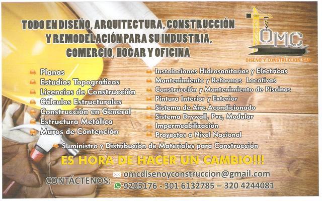 Empresa de arquitectura, diseño y construcción