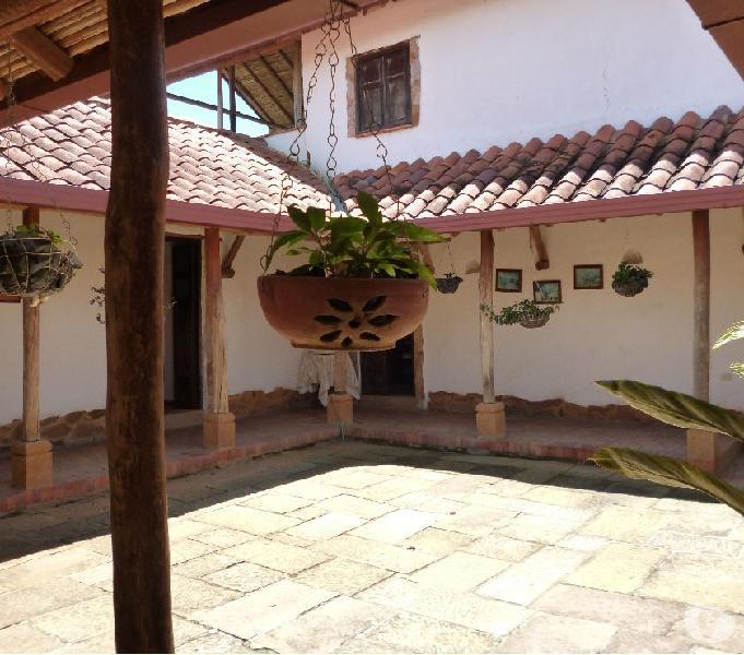 Hermosa casa campestre en san gil total descanso