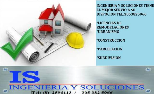 Licencias para remodelacion ibague, asesoría sin costo