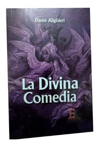 Libro la divina comedia alighieri dante nuevo original 315pg
