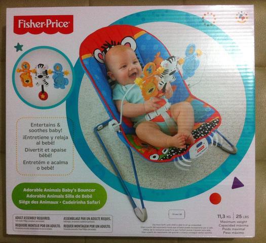Mecedora con vibración marca fisher price