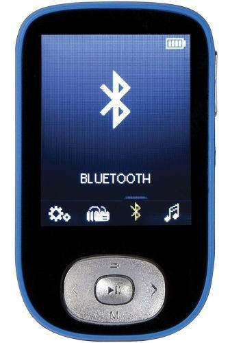Reproductor mp4 mp3 bluetooth rca 4gb mbt0004 expand 64gb