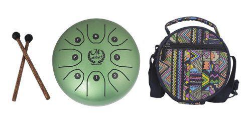 1x tambor de lengua mazo de drum con bolsa 5.5 pulgadas