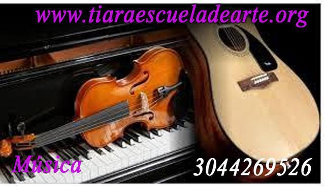 Academia de violín.