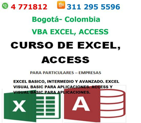 Programacion visual basic excel