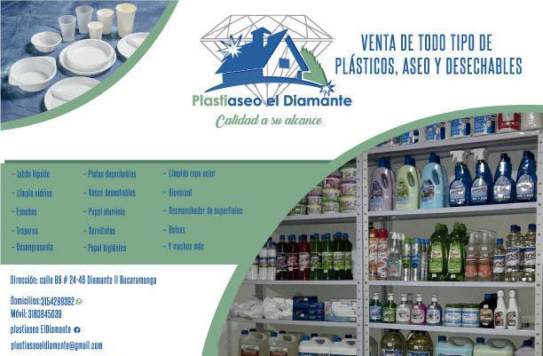 Productos de plásticos, aseo, desechables y mucho más