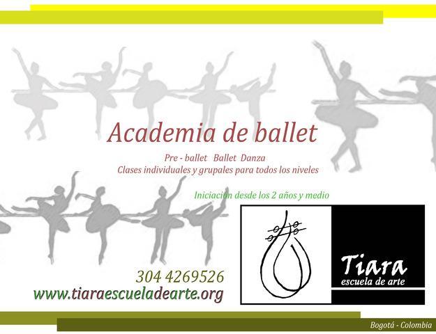 Academia de ballet para niños