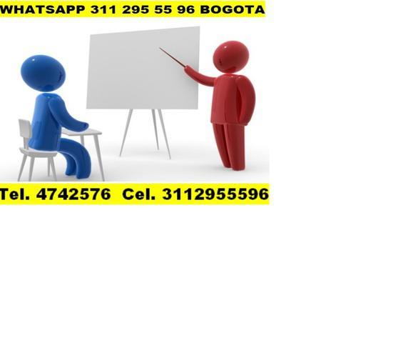 Lógica de programación, algoritmos, asesorías, clases,