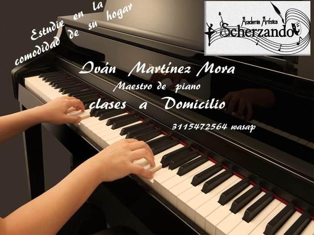 Profesor de piano domicilio