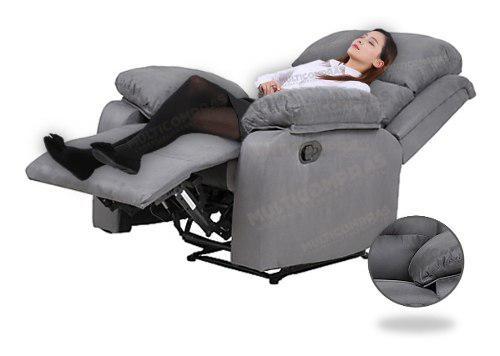 Sillón descanso reclinable posiciones apartamento casa