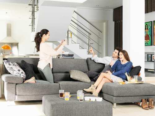Tela por metros tapicería muebles nacional resistente gris