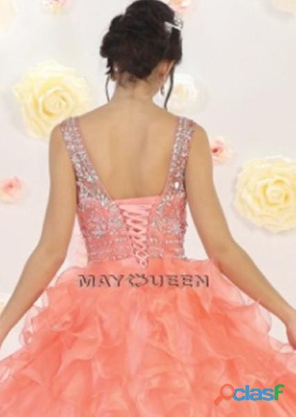 May queen couture ALquiler vestido quince años color salmon $300.000 1