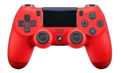 Control ps4 ds4 rojo playstation consolas y video juegos hc.