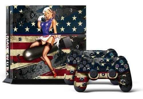 Ps4 console designer skin para sony playstation 4 system