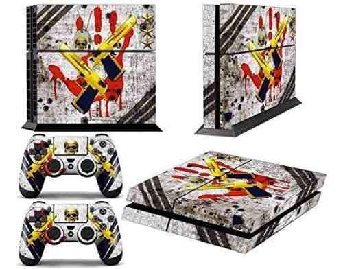 Ps4 designer skin para sony playstation 4 console system
