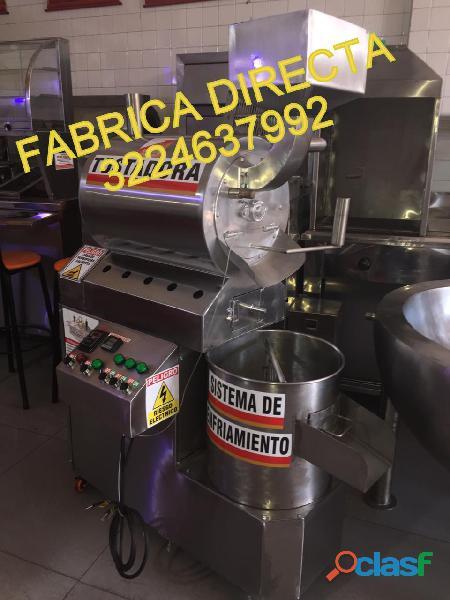 Maquina tostadora para cacao   refinador para chocolate