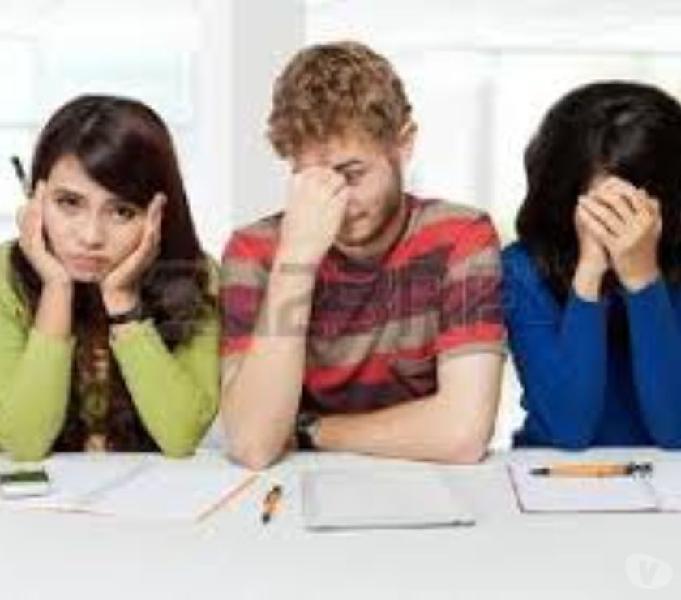 Clases particulares de:álgebra,matemática y