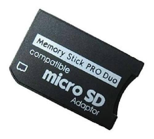 Convertidor adaptador memoria micro sd memory stick pro duo