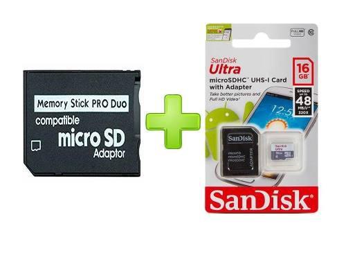 Memoria psp 16 gb + 300 juegos incorporados