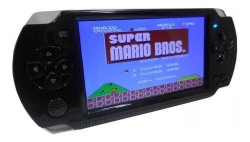 Psp mp5 consola emulador de juegos nintendo y fam, memo 8gb