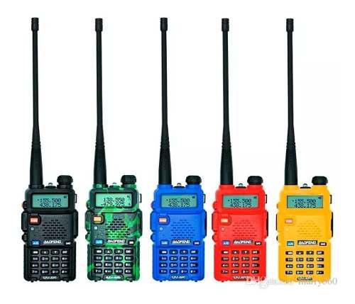 Radio télefono baofeng uv5r uhf vhf 60km + accesorios v