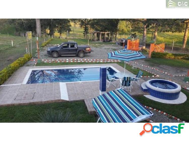 Finca Hotel en renta Montenegro 9358