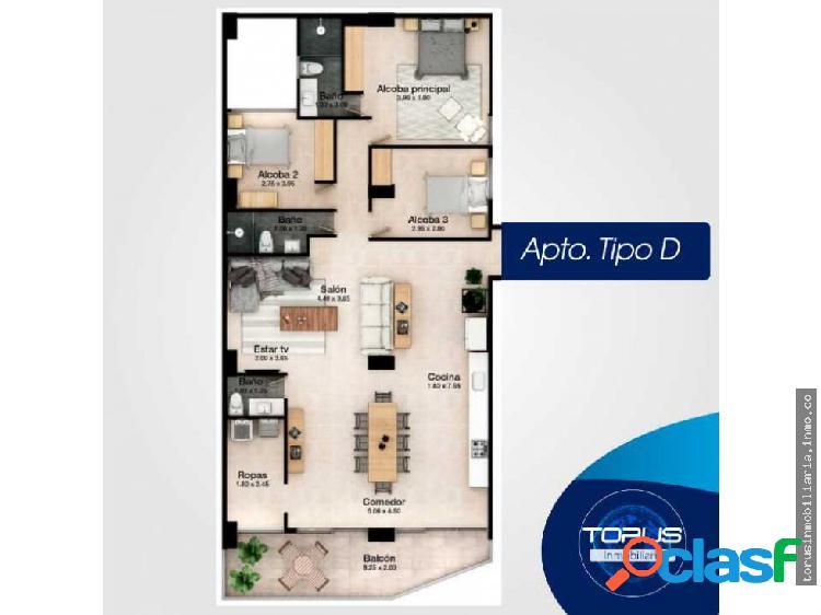 Apartamento en venta—envigado (tipo d)