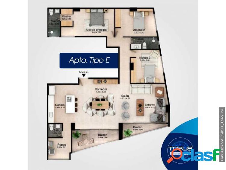 Apartamento en venta—envigado (tipo e)
