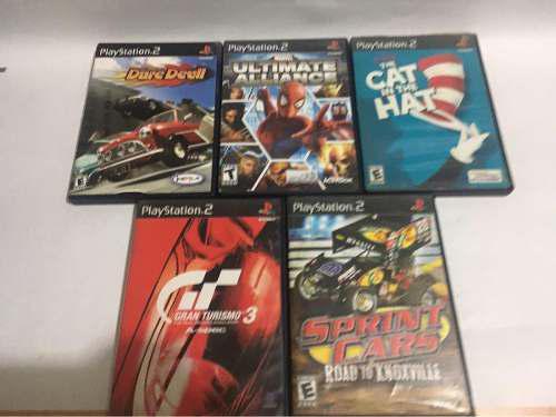 5 juegos ps2 originales