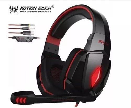 Audifono diadema cascos gamer compatible para ps4 y xbox one