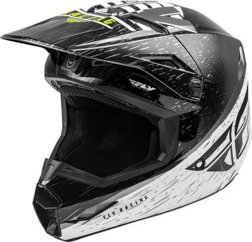 Casco Fly Kinetic K120 Negro Motocross-enduro-atv-street