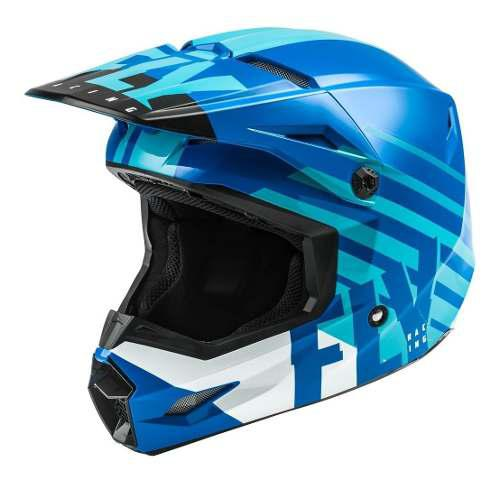 Casco Fly Kinetic Thrive Azul Motocross-enduro-atv-street