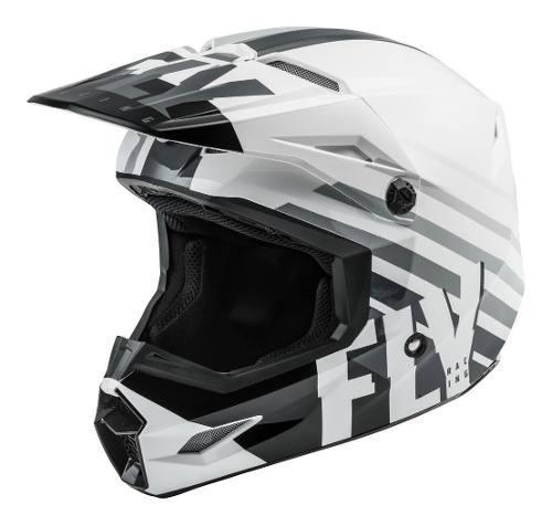 Casco Fly Kinetic Thrive Blanco Motocross-enduro-atv-street