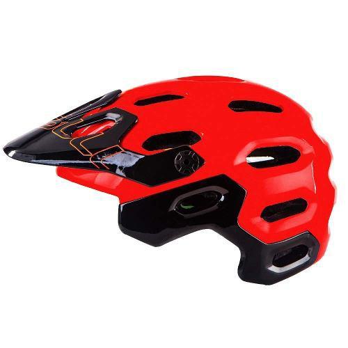 Casco mtb enduro bicicleta cairbull supercross + obsequio