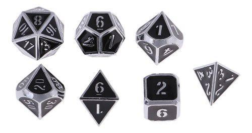 Dados polihédricos juego de rol de dungeons & dragons d &