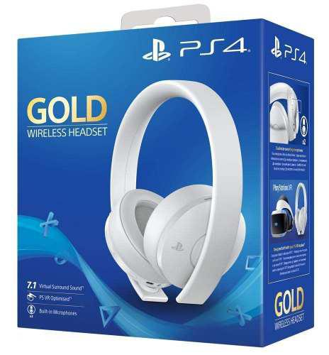 Diadema Audifonos Headset 7.1 Sony Gold Ps3 Ps4 Playstation
