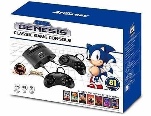 Sega genesis classic game console version 2017