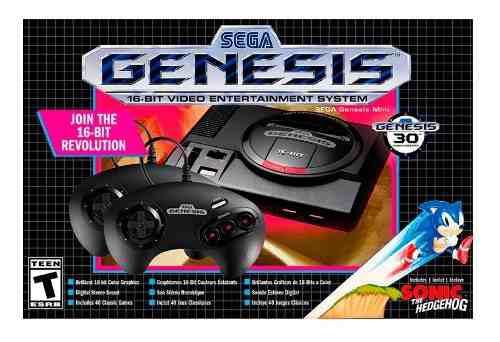 Sega genesis mini - hardware retri consola nueva